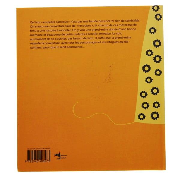 La couverture : Une histoire en petits carreaux (de tissu) (スイス)
