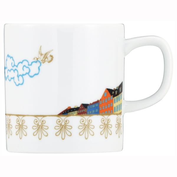 &MO'design / プレート&マグカップセット(空から)