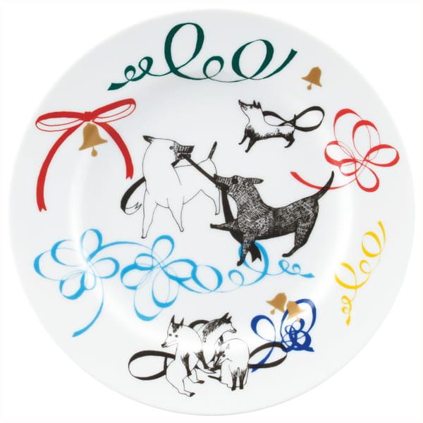 &MO'design / プレート&マグカップセット(Ribbon)