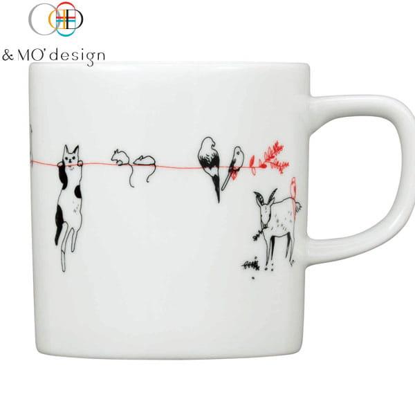 &MO'design マグカップ <赤い糸>