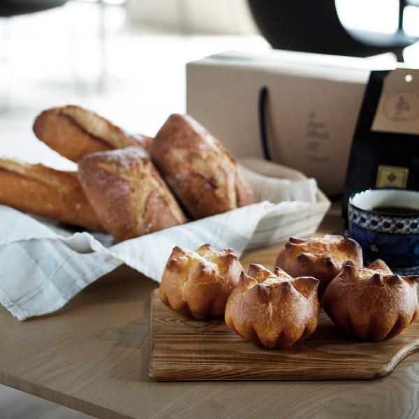 le pain boule / パン詰合せセット(3種8個)