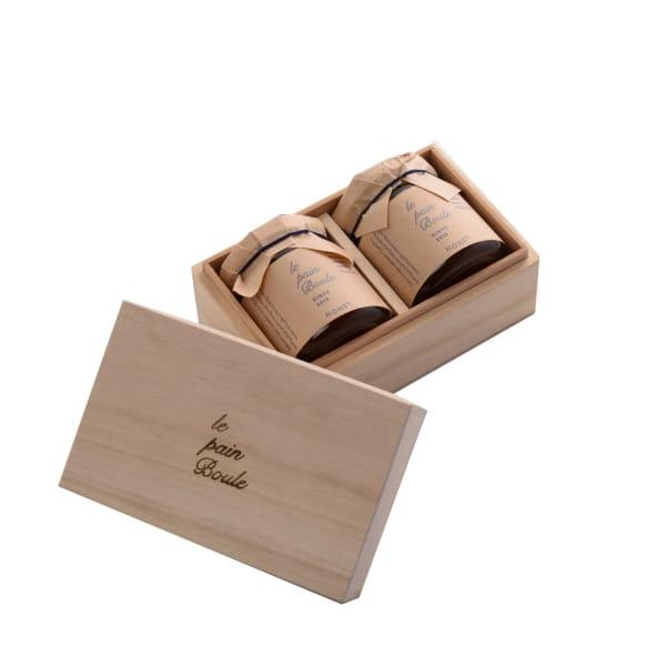 le pain boule / ハニー2個セット 木箱入り*