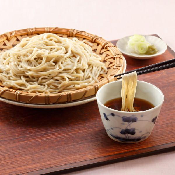 肴七味屋 / 信州二八蕎麦セット8食(冷凍配送)*