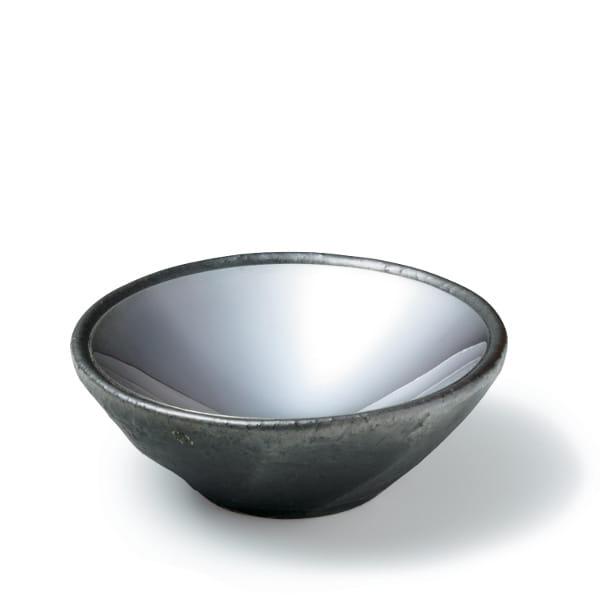 日伸貴金属 / 銀器・信楽焼 小皿