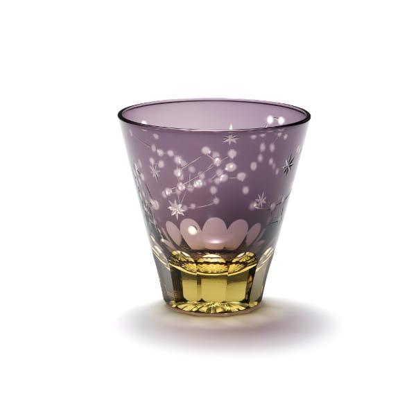 中金硝子 / ほしめぐり(紫/ゴールド)