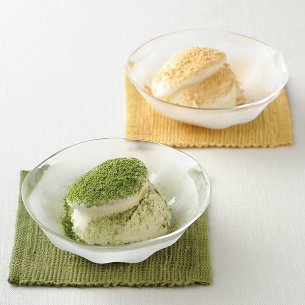 長野・甘味喫茶塩川 / もち入りアイスクリーム 2種×3個*