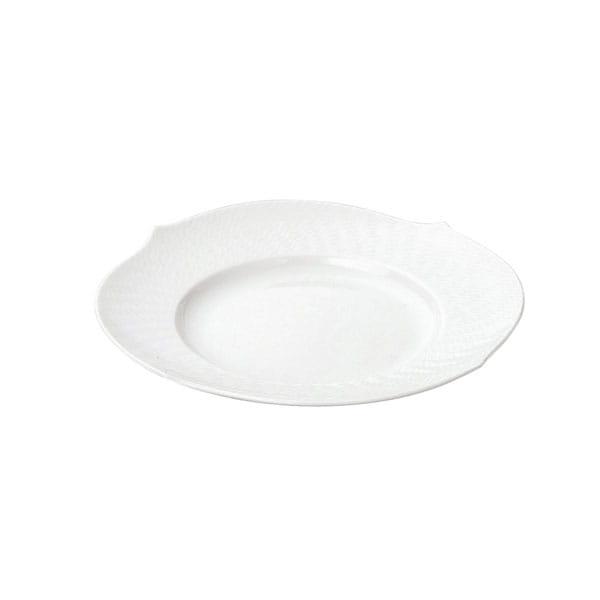 MEISSEN / 波の戯れ ホワイト ケーキプレート