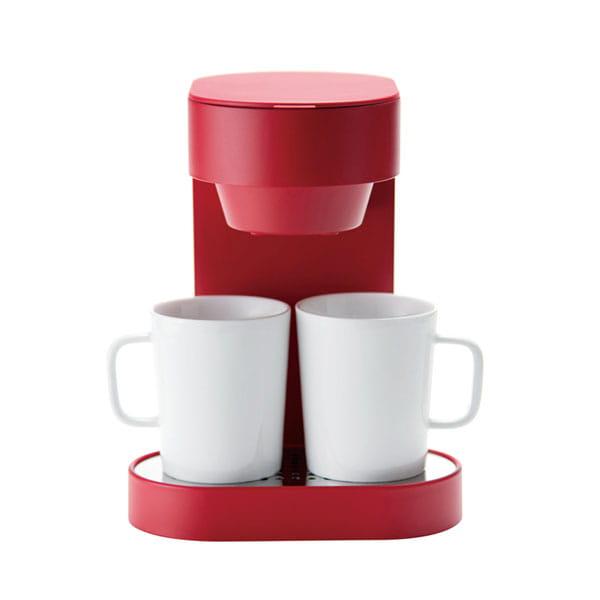 プラスマイナスゼロ / コーヒーメーカー2カップ(レッド)