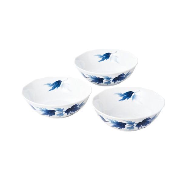 香蘭社 / 麻の葉 三つ組鉢