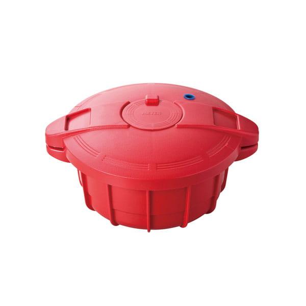 MEYER / 電子レンジ圧力鍋(レッド)