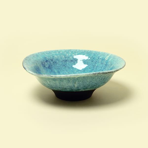 作山窯 / 青かいらぎ 大鉢