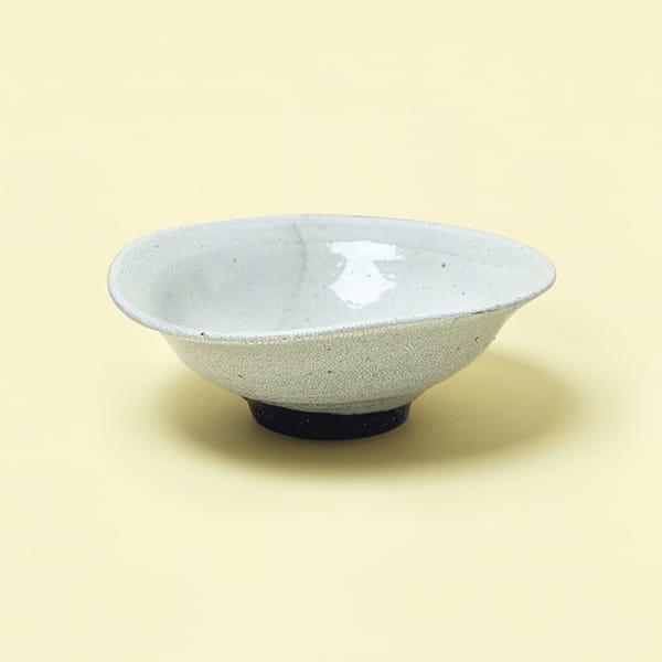 作山窯 / 白かいらぎ大鉢
