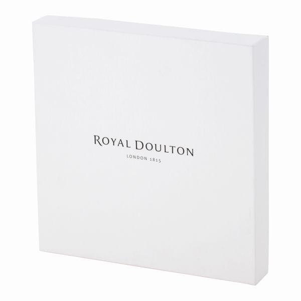 ロイヤルドルトン / フェイブルプレート22cm ツリーブルー・レッド ペア [GIFT COLLECTION掲載商品 625C0010]