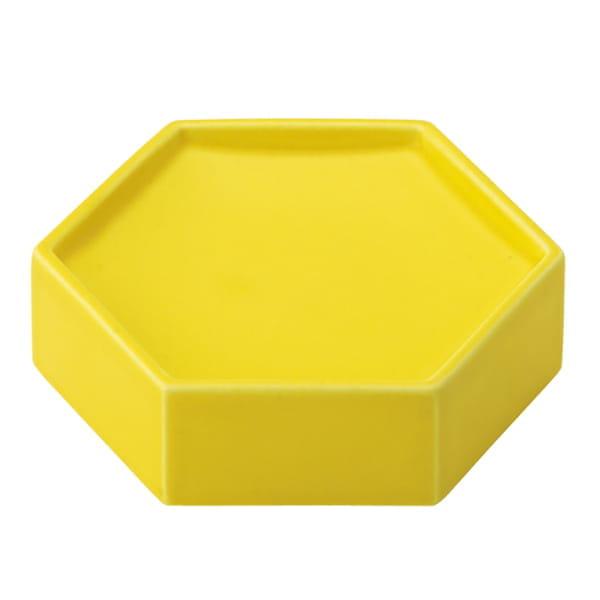 ポトペリー / 六角トレイ(イエロー)