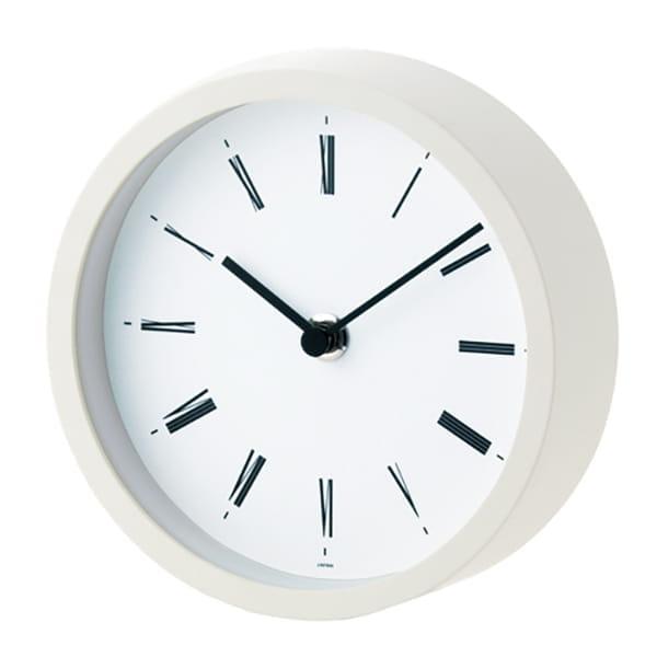 レムノス / 掛置き時計(ホワイト)