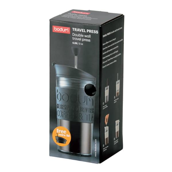 bodum / 携帯用フレンチプレスコーヒーメーカー(ブラック)
