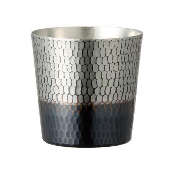 新光堂 純銅手打ち鎚目ロックカップ