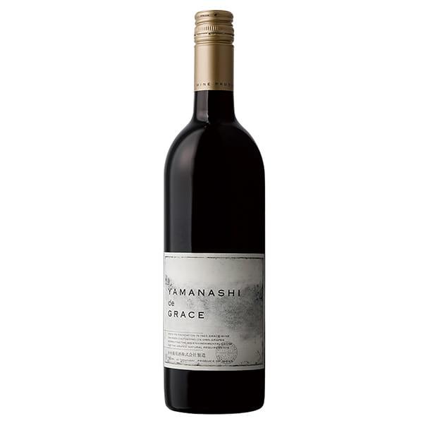 山梨・中央葡萄酒 / ヤマナシ ド グレイス(赤/750ml)