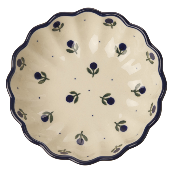 セラミカ / フィオーレ 波型平鉢(15cm)