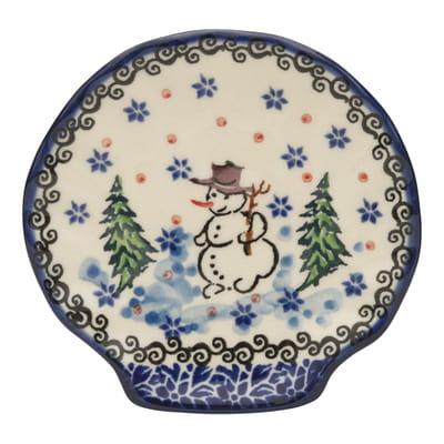 セラミカ / クリスマス シェルディッシュ(10cm)