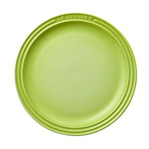 LE CREUSET / ラウンド・プレート・LC(23cm/フルーツグリーン)