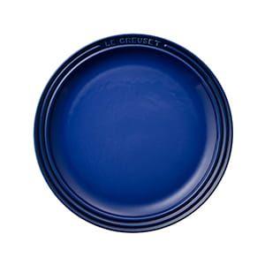LE CREUSET / ラウンド・プレート・LC(23cm/ブルー)