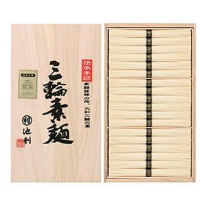 奈良・池利 / 手延三輪素麺詰合せ(36束)