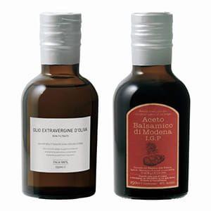 スプレンディア / オリーブオイル&バルサミコ酢セット [GIFT COLLECTION掲載商品 692A0242]