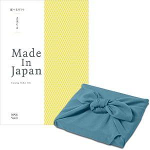 <風呂敷包み> まほらま Made In Japan(メイドインジャパン) カタログギフト <NP06+風呂敷(あじさい)>