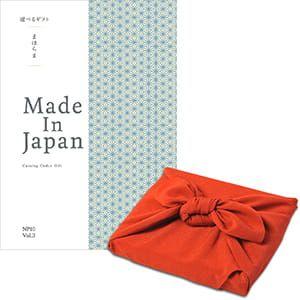 <風呂敷包み> まほらま Made In Japan(メイドインジャパン) カタログギフト <NP10+風呂敷(りんご)>