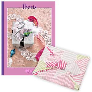 <風呂敷包み> 選べるギフト ベストコレクション <イベリス Iberis+風呂敷(こはれ ねんりん ピンク)>