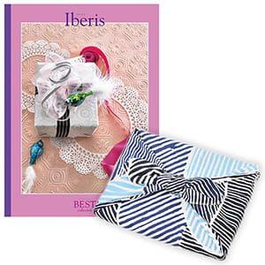 <風呂敷包み> 選べるギフト ベストコレクション <イベリス Iberis+風呂敷(こはれ ねんりん ブルー)>