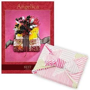 <風呂敷包み> 選べるギフト ベストコレクション <アンジェリカ Angelica+風呂敷(こはれ ねんりん ピンク)>