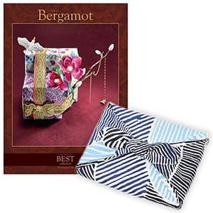 <風呂敷包み> 選べるギフト ベストコレクション <ベルガモット|Bergamot+風呂敷(こはれ ねんりん ブルー)>