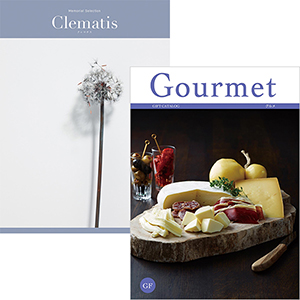 memorial selection with gourmet