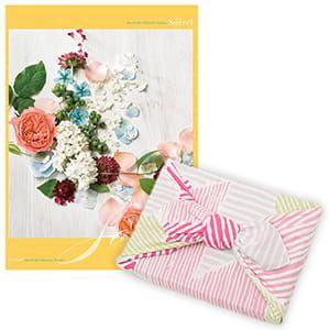 <風呂敷包み> 選べるギフト Mistral(ミストラル) <ソレル+風呂敷(こはれ ねんりん ピンク)>