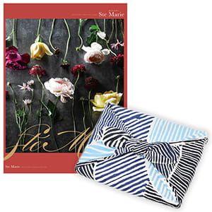 <風呂敷包み> 選べるギフト Mistral(ミストラル) <セントマリー+風呂敷(こはれ ねんりん ブルー)>