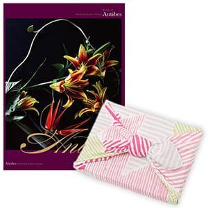 <風呂敷包み> 選べるギフト Mistral(ミストラル) <アンティーブ+風呂敷(こはれ ねんりん ピンク)>