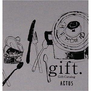 ACTUS(アクタス) カタログギフト <BLUE GRAY edition(ブルーグレーエディション)>