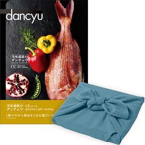 <風呂敷包み> dancyu(ダンチュウ) カタログギフト <CE+風呂敷(色のきれいなちりめん あじさい)>