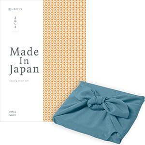 <風呂敷包み> まほらま Made In Japan(メイドインジャパン) カタログギフト <NP16+風呂敷(あじさい)>