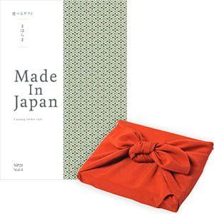 <風呂敷包み> まほらま Made In Japan(メイドインジャパン) カタログギフト <NP29+風呂敷(りんご)>