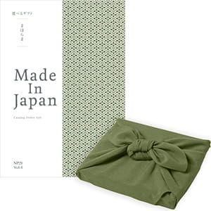 <風呂敷包み> まほらま Made In Japan(メイドインジャパン) カタログギフト <NP29+風呂敷(かぶの葉)>