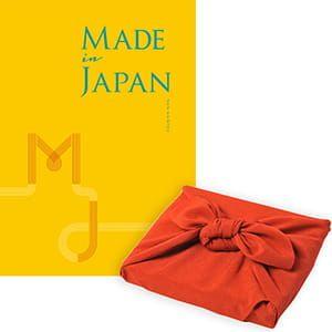 <風呂敷包み> Made In Japan(メイドインジャパン) カタログギフト <MJ06+風呂敷(色のきれいなちりめん りんご)>