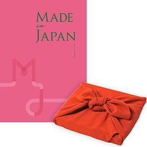 <風呂敷包み> Made In Japan(メイドインジャパン) カタログギフト <MJ08+風呂敷(色のきれいなちりめん りんご)>