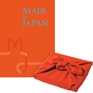<風呂敷包み> Made In Japan(メイドインジャパン) カタログギフト <MJ16+風呂敷(色のきれいなちりめん りんご)>