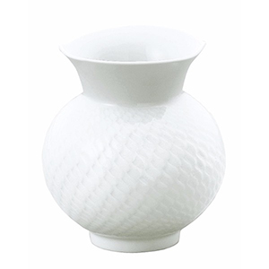 Meissen / 波の戯れ ホワイト 花瓶
