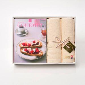 グルメカタログギフト Gourmet <GA>+今治フェイスタオルセット