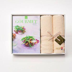 グルメカタログギフト Gourmet <GB>+今治フェイスタオルセット