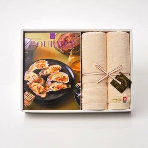 グルメカタログギフト Gourmet <GE>+今治フェイスタオルセット